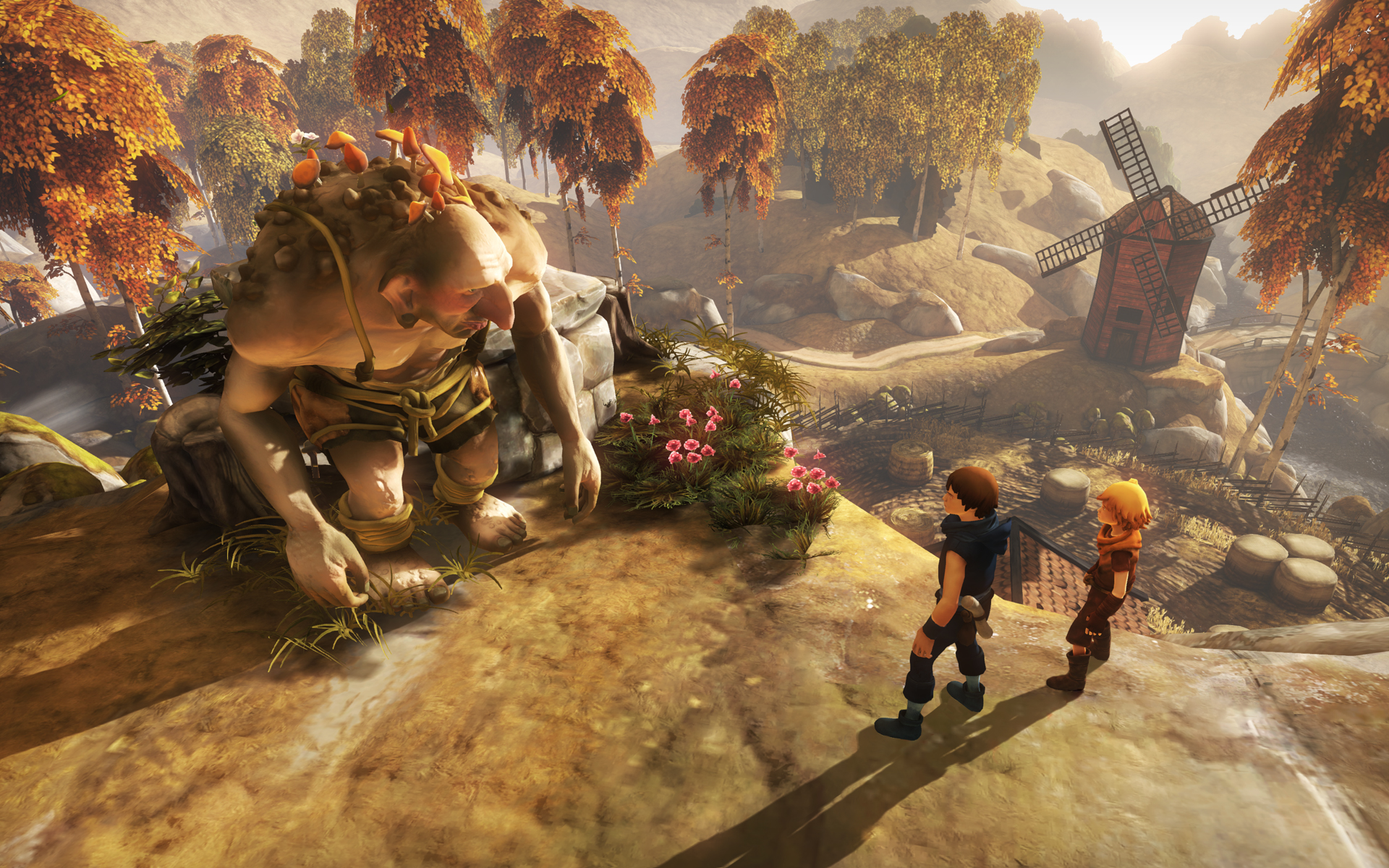 brothers tale of two sons ps4 Starbreeze